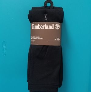 Timberland Fleece Lined Tights Footless